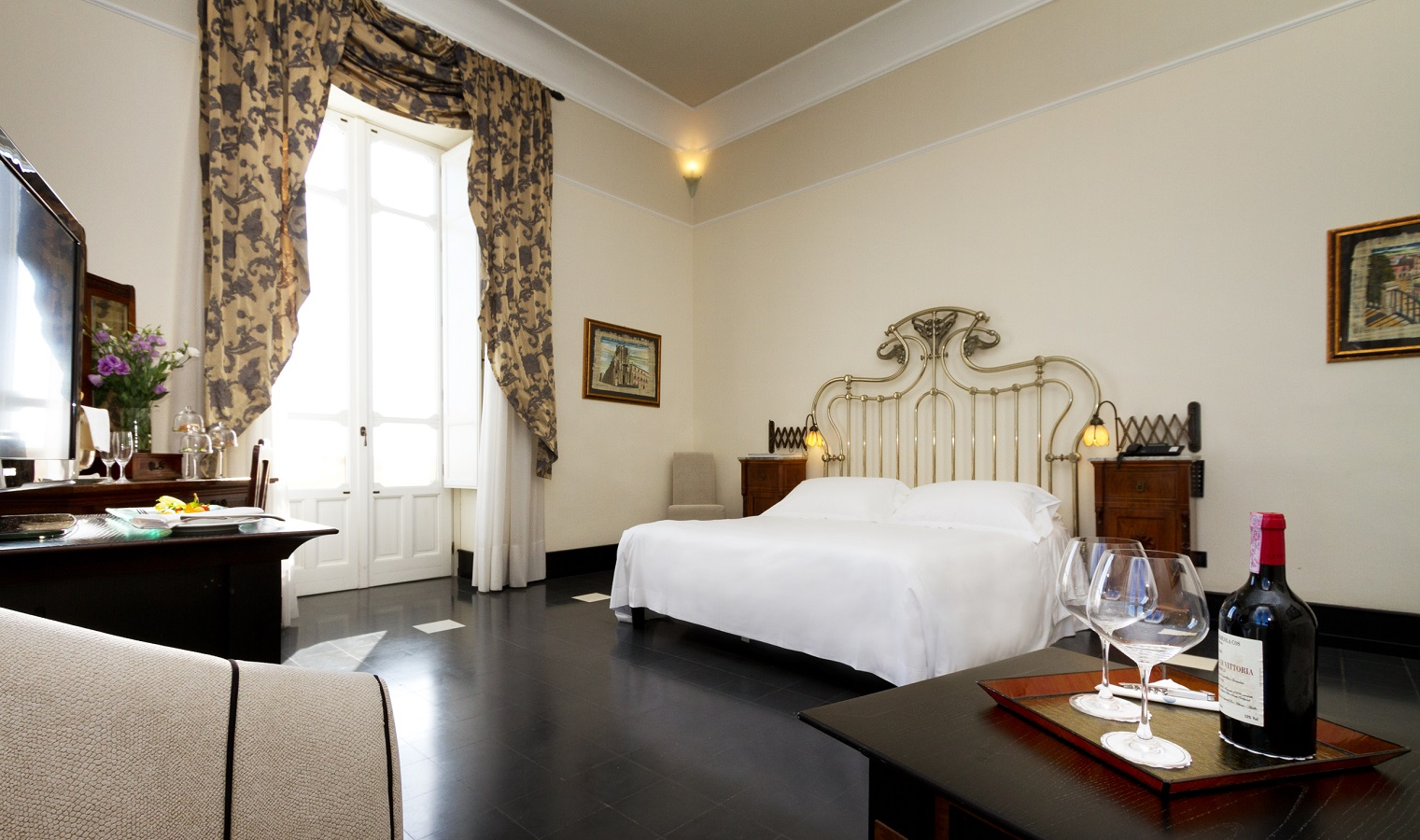 Camere grand hotel des trangers siracusa for Hotel des etrangers siracusa